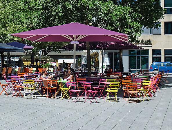 lüks cafe şemsiyeleri, lüks restaurant şemsiyeleri