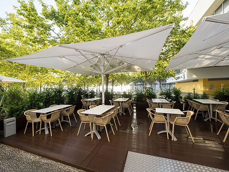 büyük restoran şemsiyeleri, büyük restaurant şemsiyeleri