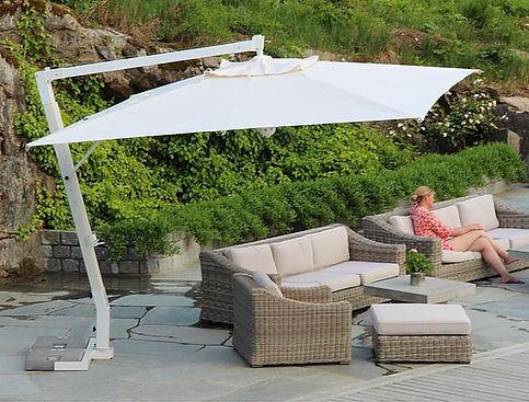 yandan direkli bahçe şemsiyeleri, yandan mafsallı şemsiye