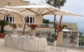 yandan gövdeli otel şemsiyeleri, yandan gövdeli şemsiye modelleri