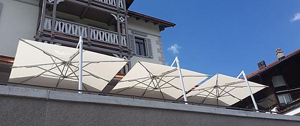 lüks teras şemsiyeleri
