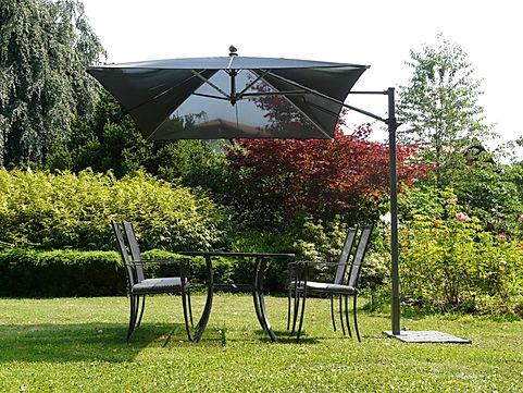 yandan direkli şemsiye, yandan direkli bahçe şemsiyesi