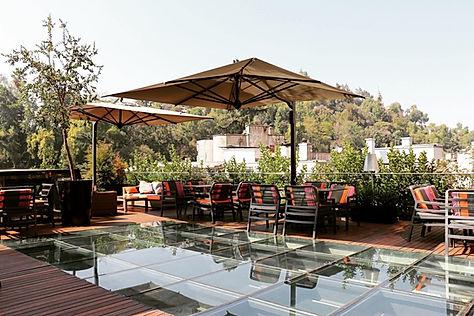 lüks teras şemsiyeleri, lüks bahçe mobilyası