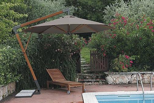 ahşap teras şemsiyesi modelleri