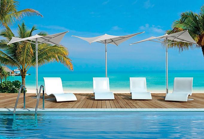 plaj şemsiyesi, plaj şemsiyesi modelleri, lüks plaj şemsiyeleri