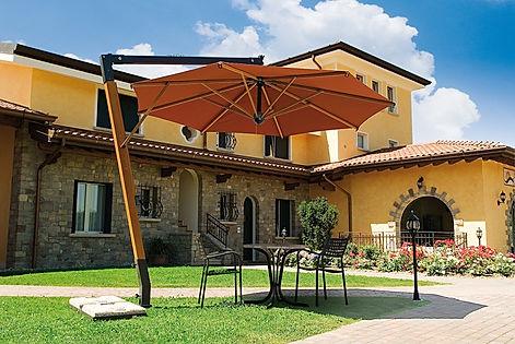 Yandan Direkli Bahçe Şemsiyeleri