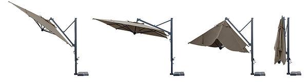 lüks güneş şemsiyeleri, lüks bahçe şemsiyeleri