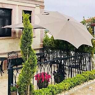 güneş şemsiyesi ayvalık, plaj şemsiyesi ayvalık, bahçe şemsiyes ayvalık