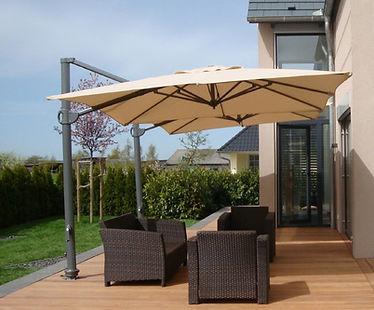 yandan kollu şemsiye, yandan kollu bahçe şemsiyesi