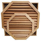 Octagon Cedar Vents