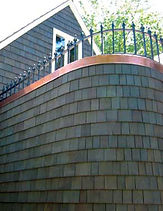 Pre-Stained Shingle Products