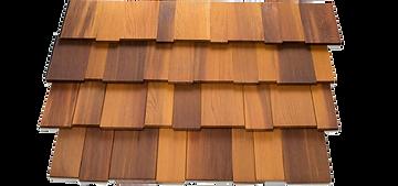Mixed Grain Shingle Panel Corners