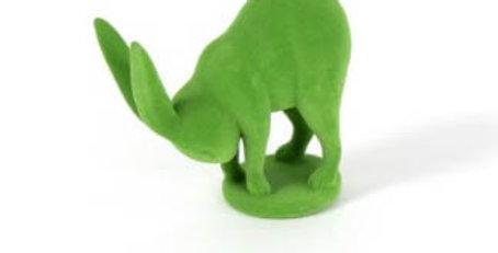 Green Yoga Toes Bunny