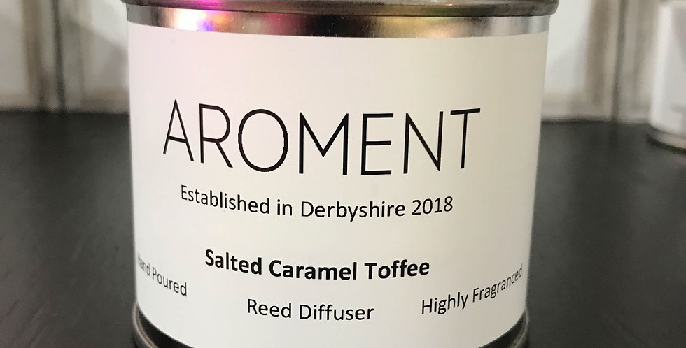 Aroment Diffuser: Salted Caramel Toffee