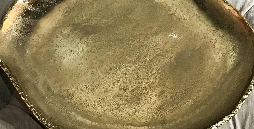 Organic Gold Plate