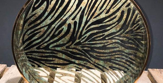 Zebra Pattern Tray