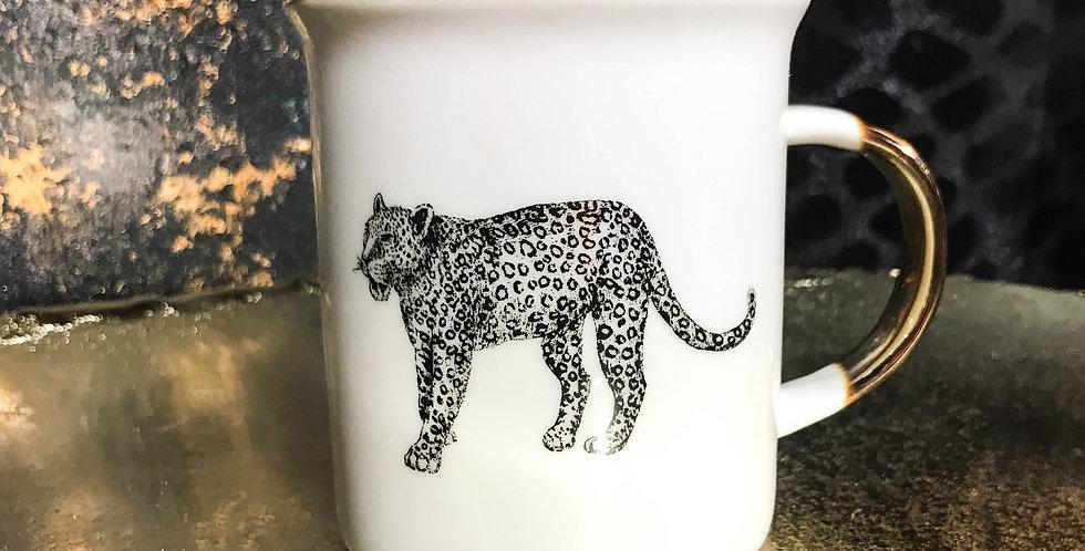 Cheetah mug