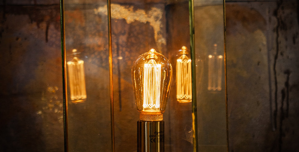 Askjer Wood Table Lamp