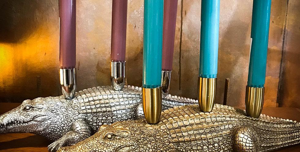 Crocodile Candle Holder