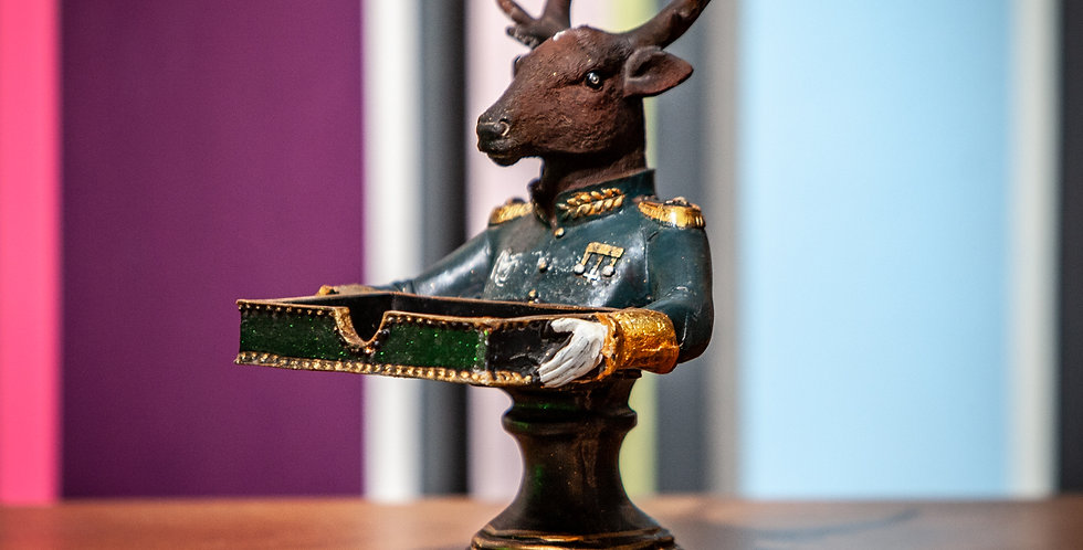 Stag Card Holder