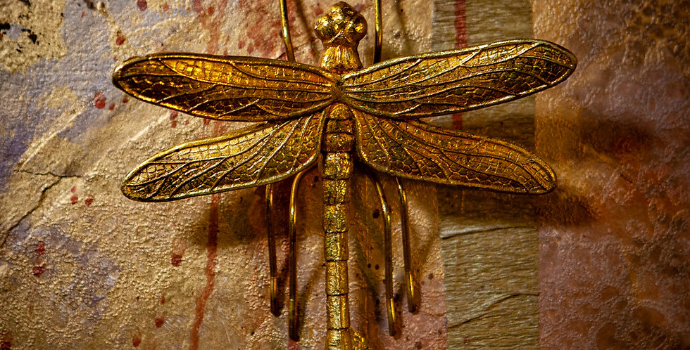 Dragonfly Wall Figure