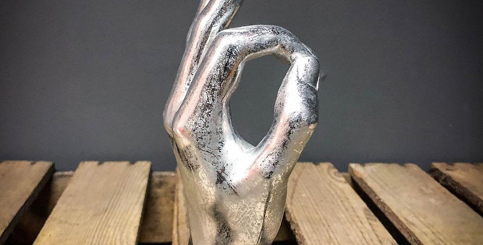 Silver Ok Hand