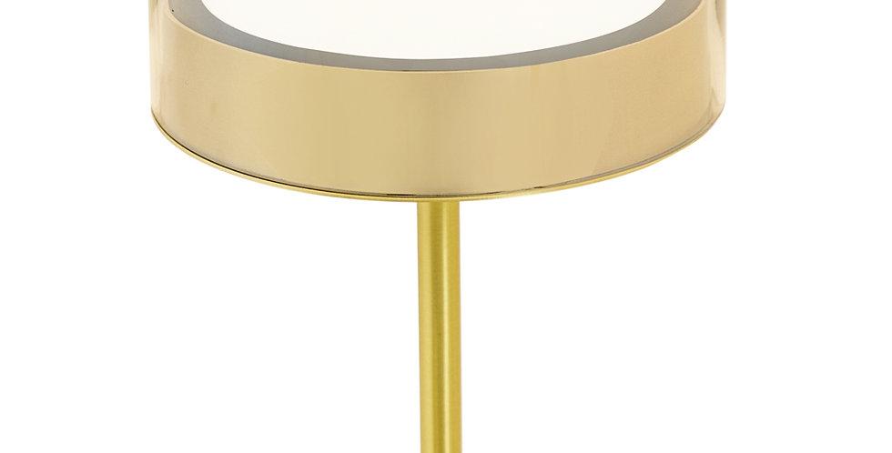 Brass Glass Lamp