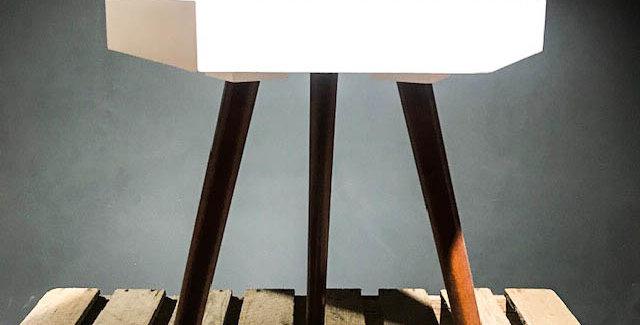 White Pine Hexagon Table