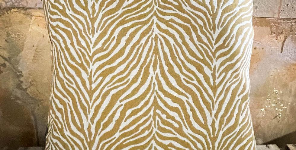 Brown Zebra Cushion