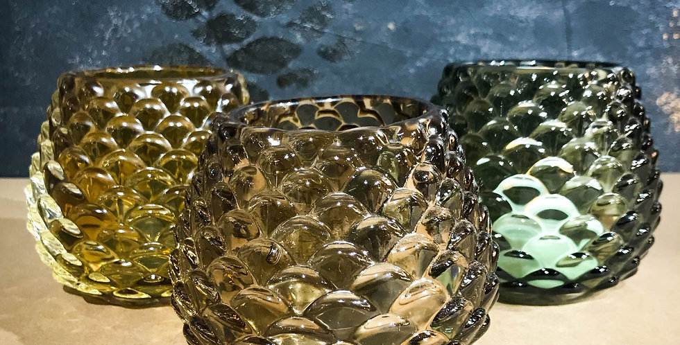 Glass Tealight holders