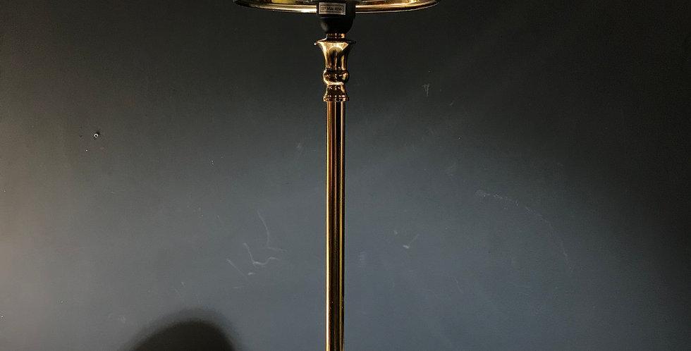 Brown Cow Hide Lamp