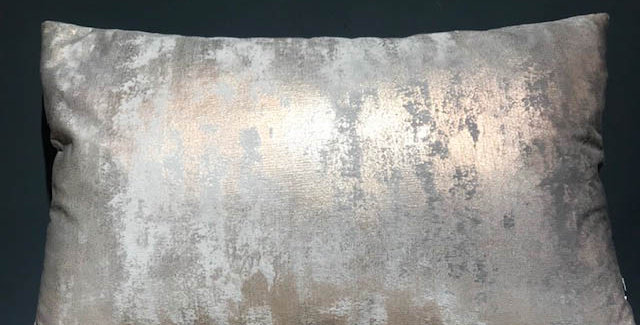 Copper Foil and Silver Cushion