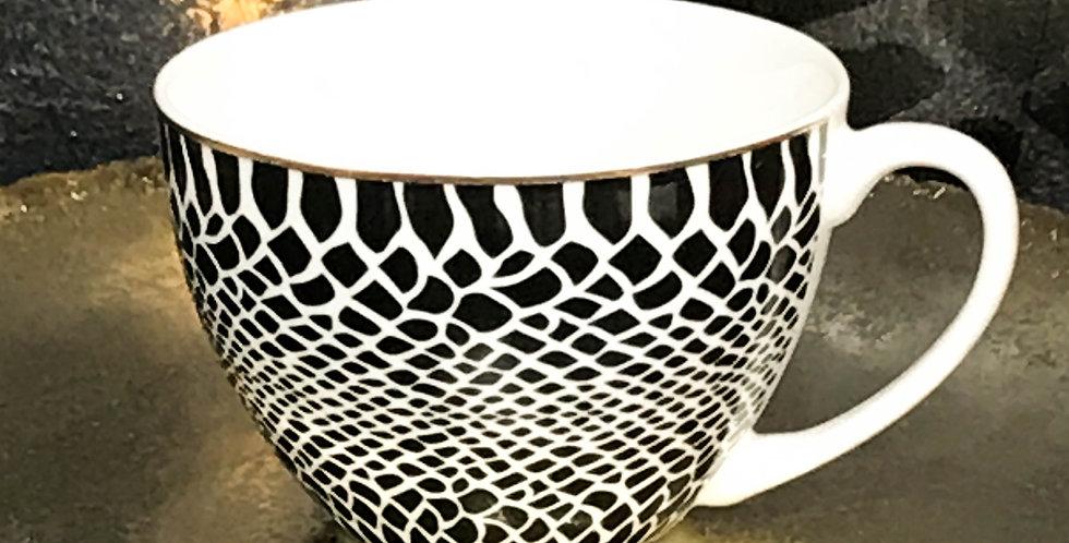 Jumbo Snake Print mug