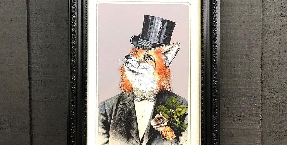 PRINT Fox in Suit