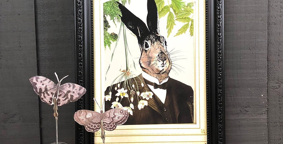 PRINT Hare in Suit A2 A3