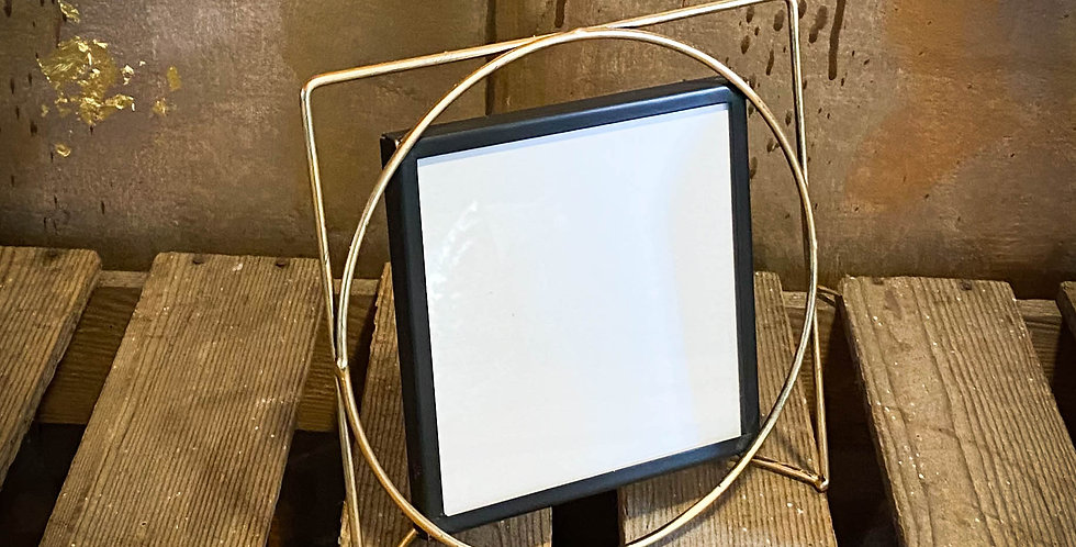 gold wire frame