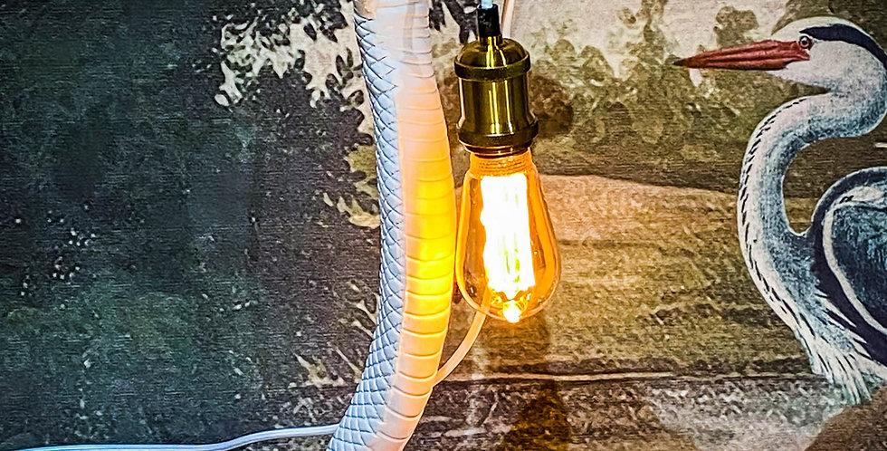 Cleo Snake lamp White