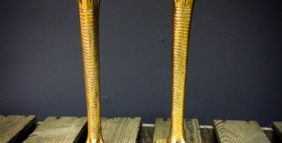 bird leg candle holders (set of 2)