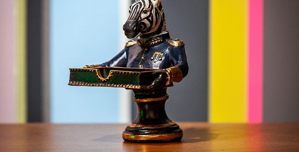 Zebra Card Holder