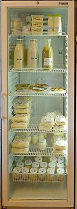 Magasin de la ferme de la Chapelette, produits laitiers fermiers, belgiqe