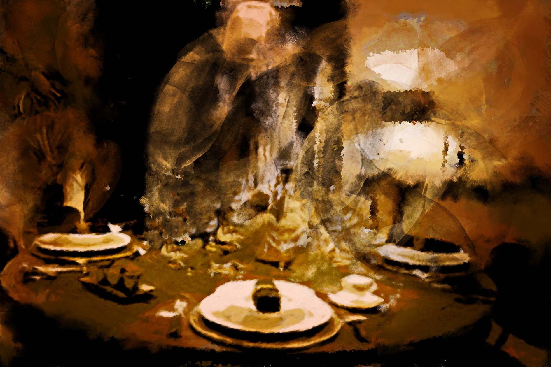 Peinture Art de la Table chez Flamant par Laure Van De Meele