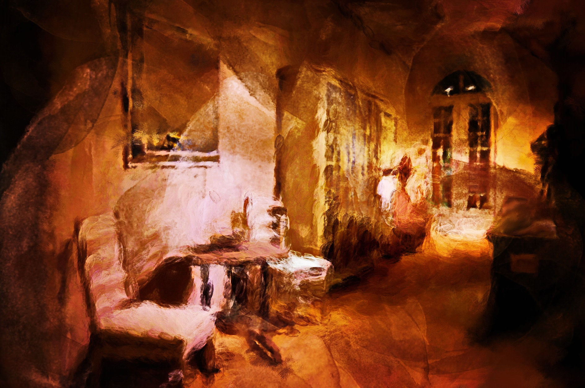 Schilderij door kunstenaar laurevandemeele, Flamant Home inspiratie