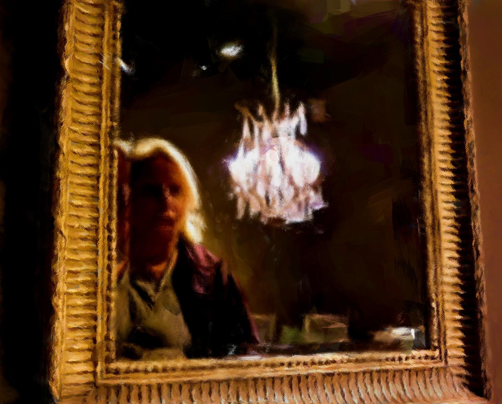 Laure Van De Meele zelfportret