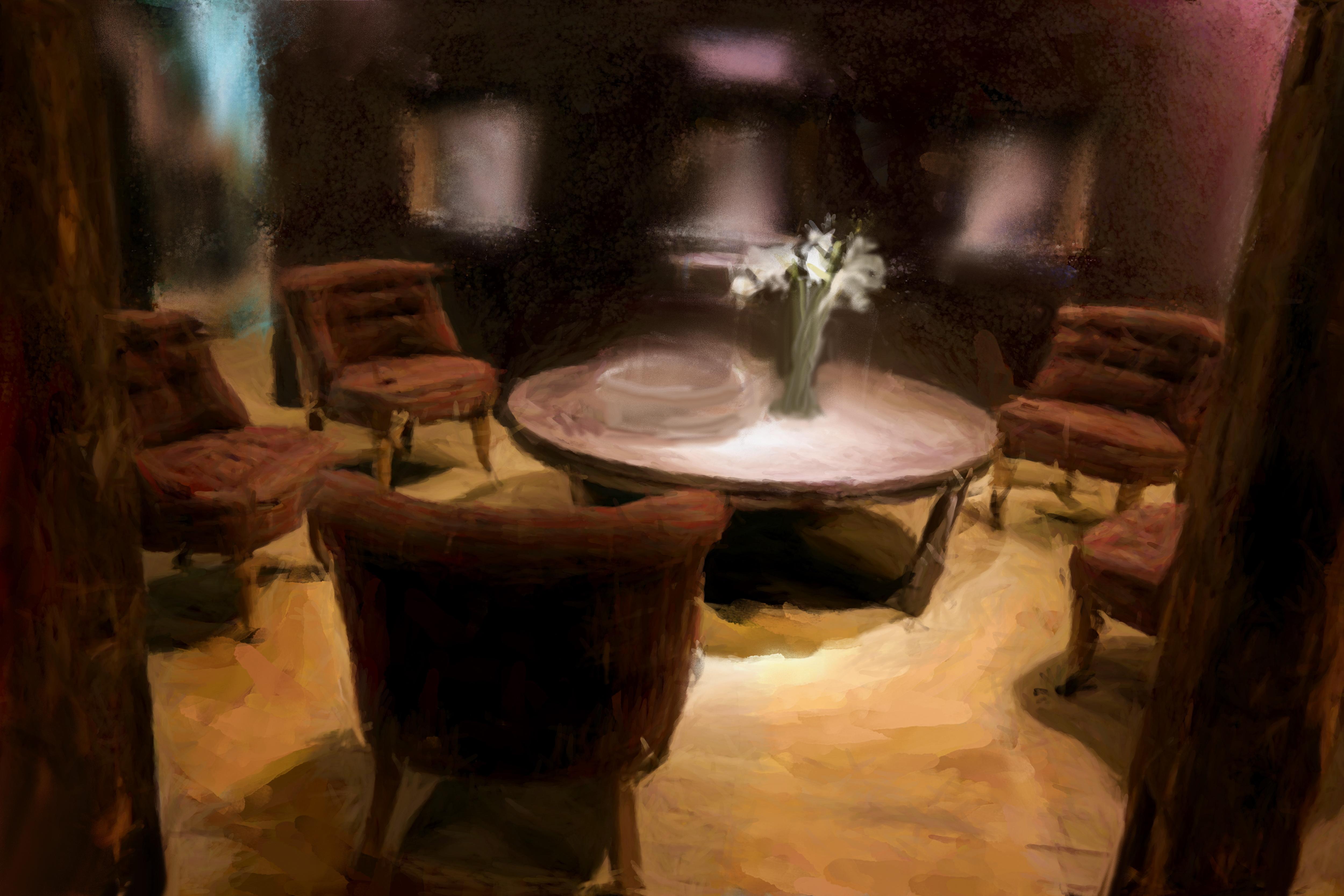 Harmonie_et_bien-être,_tableau_de_Laure_Van_De_Meele_inspirée_par_Flamant_Interiors