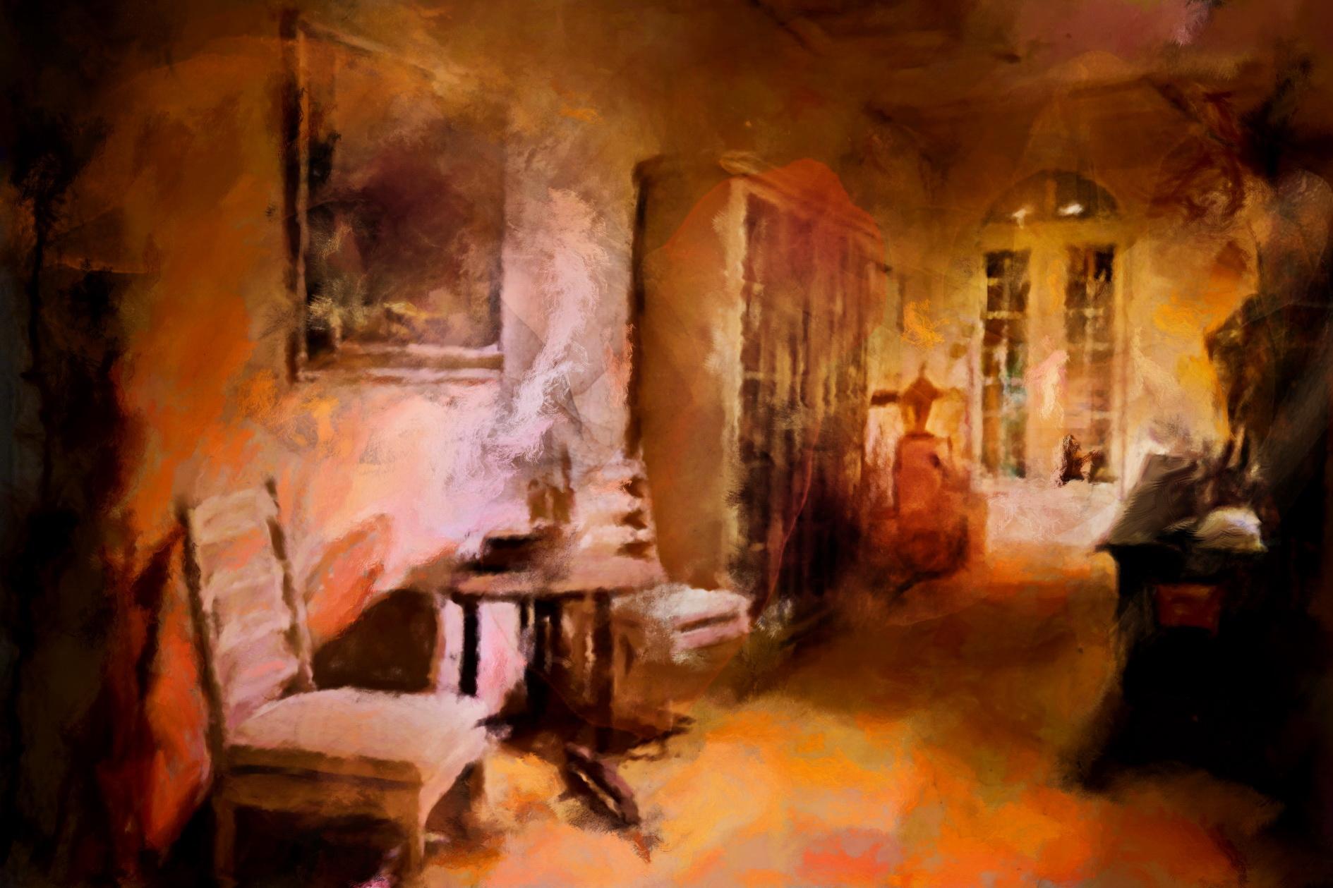 Light and magic naar Flamant interiors, door kunstenaar Laure Van De Meele
