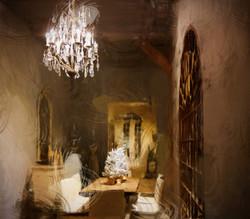 Le_Restaurant,_un_tableau_de_l'artiste_Belge_Laure_Van_De_Meele,_inspirée_par_Flamant_Interiors