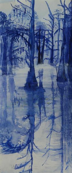 Laure Van De Meele Arbre Bleu