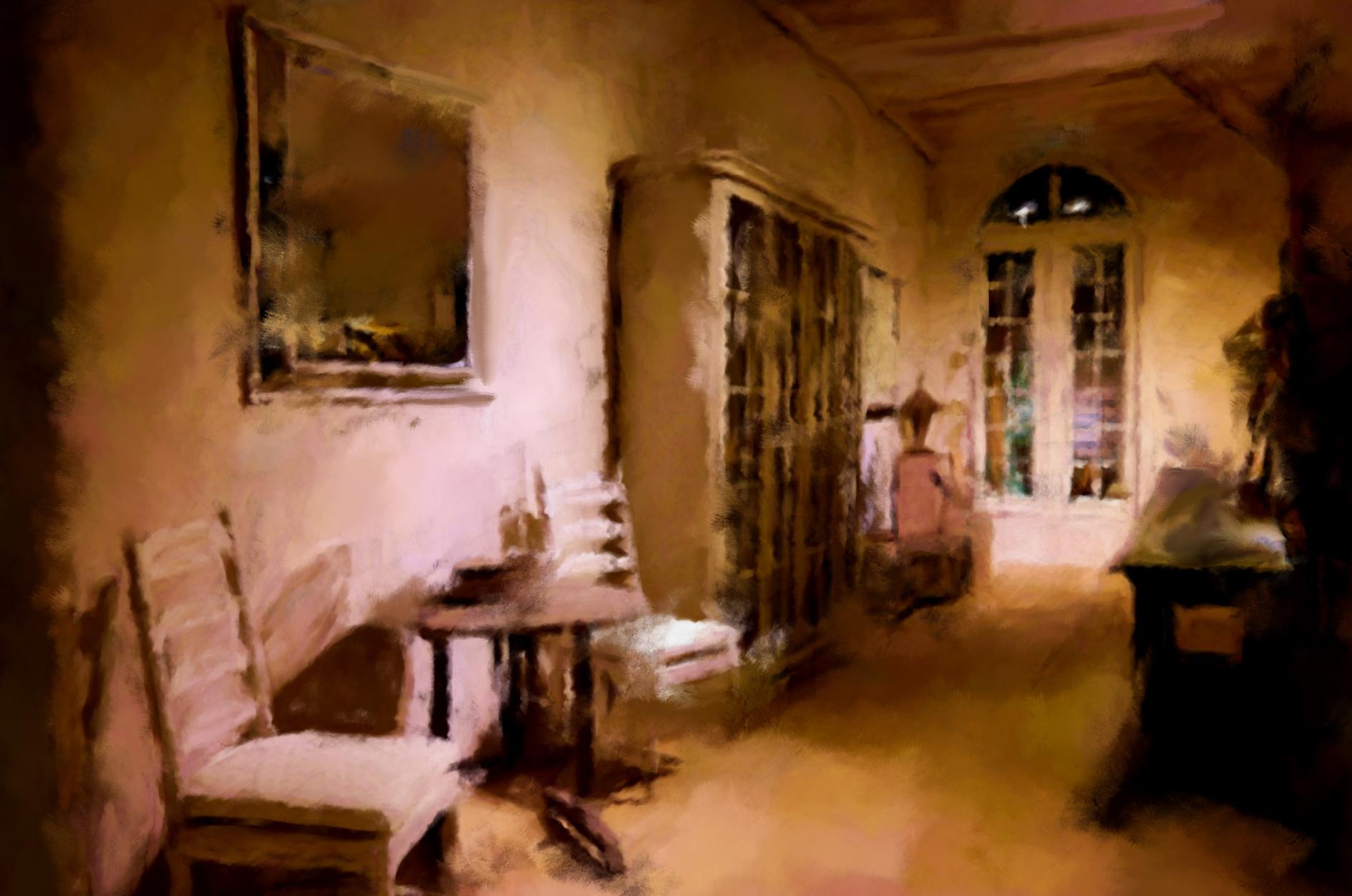 Lichte sfeer and magic naar Flamant interiors, door kunstenaar Laure Van De Meele