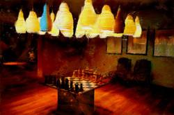 Chess,_een_schilderij_gemaakt_door_Laure_Van_De_Meele_geïnspireerd_door_Flamant_Interiors