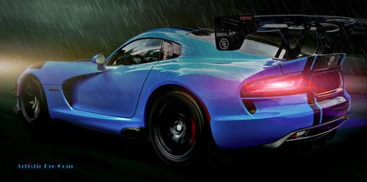 020  BLUE CAR PLUIE.jpg